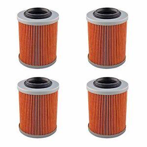 4-Pack-Oil-Filter-Filters-for-Can-Am-UTV-Commander-Maverick-800-1000-All-Models