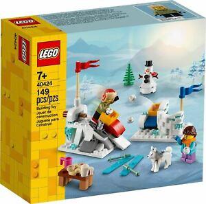 LEGO-CITY-Inverno-Snowball-lotta-Set-40424