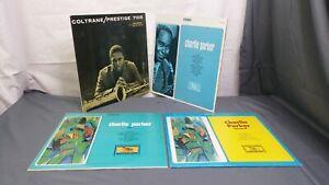 Charlie Parker & John Coltrane Vinyl Quartet - Prestige 7105 & Volume 1, 2 & 3