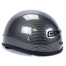 Vega XTS Carbon Fiber Graphic Helmet Motorcycle Cruiser Chopper Bobber Visor