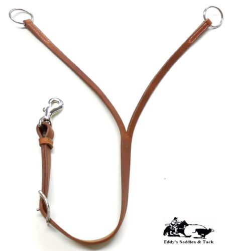 """Training Fork 1/"""" Harness Leather Adjustable Length Cinch Connect New Free Ship"""