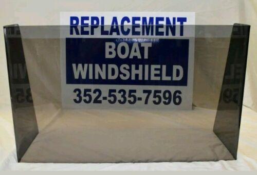"unbreakable center console Boat windshield 21/"" ID 3//16/"" lexan"