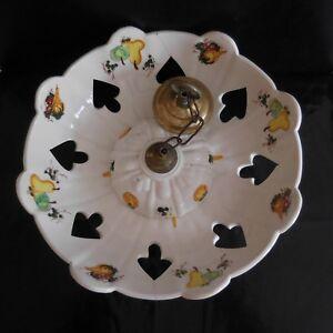 Lustre-vasque-ceramique-faience-fait-main-Design-Art-Nouveau-Deco-France-N3133