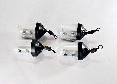 kamasan preston 10g to 40g Pack of 4 Black Cap Mini Swim Feeder