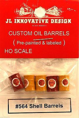 Mixed Colors - NIB #559 Custom Oil Barrels JL Innovative DX HO-Scale