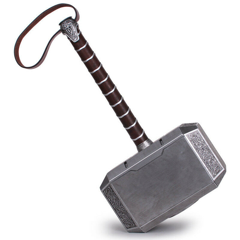 1:1 Avengers Thor Hammer Resin Full Size Mjolnir Replica Cosplay Props US Ship 2