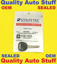 NEW OEM SEALED Buick Logo Transponder Chip Key Blank PK3 75 GRV B99-PT 692952