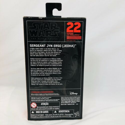 jedha 6-Inch ACTION FIGURE NEW IN BOX Star Wars Rogue One The Black Series in erso