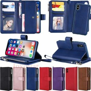 For-iPhone-8-7-6s-Plus-X-XR-XS-Max-Magnetic-Detachable-Leather-Wallet-Case-Cover