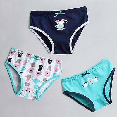 """NWT Vaenait Baby Kids Brief Short Underwear Girls Pantie Set /""""Cute Star/"""" 2T-7T"""