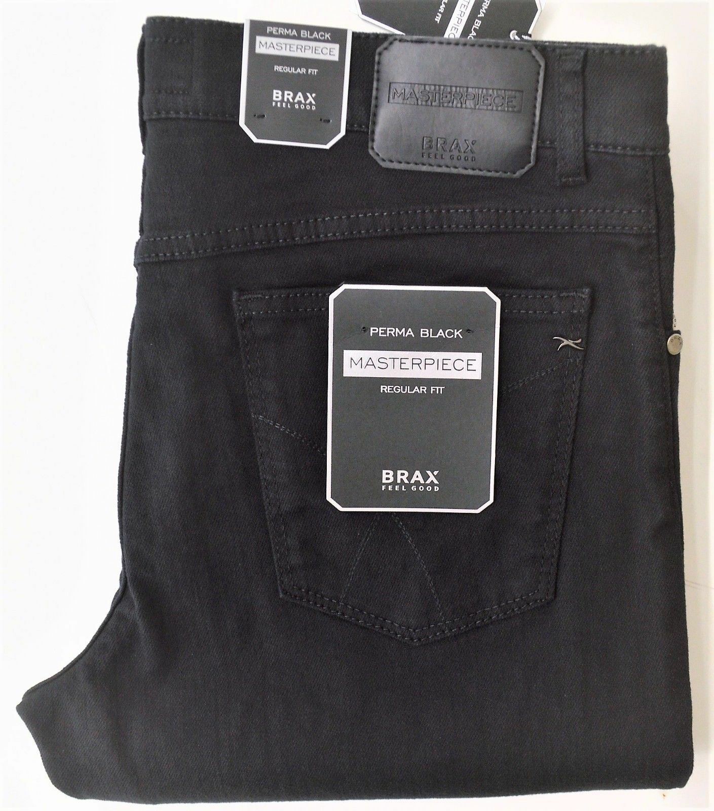 BRAX Cooper Masterpiece Masterpiece Masterpiece - modische Jeans in Perma schwarz Stretch Gr. wählbar 106cdd
