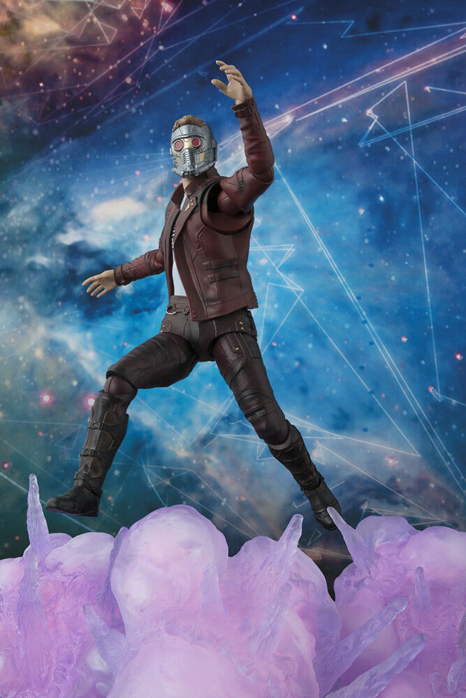 BANDAI TAMASHII S.H.FIGUARTS GUARDIANS OF THE GALAXY VOL 2 - STAR-LORD NUOVO