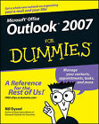 Outlook 2007 For Dummies by Bill Dyszel (Paperback, 2006)