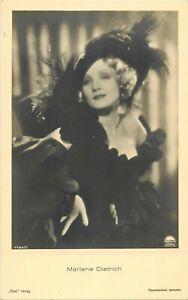 Original-MARLENE-DIETRICH-vintage-German-Ross-Verlag-postcard-20s-RARE