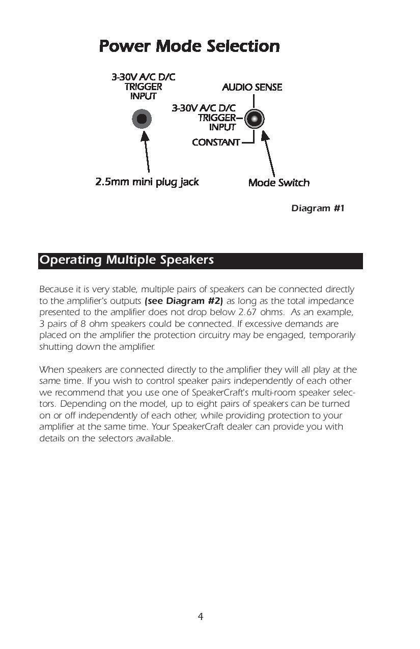 Speakercraft Bb275 2 Channel Amplifier Ebay Schematic Diagram2 Channels Same As Below