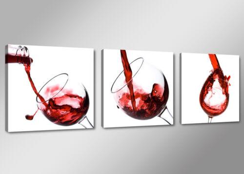 Cuadro en Lienzo 4219 vino 150 x 50 cm Nr
