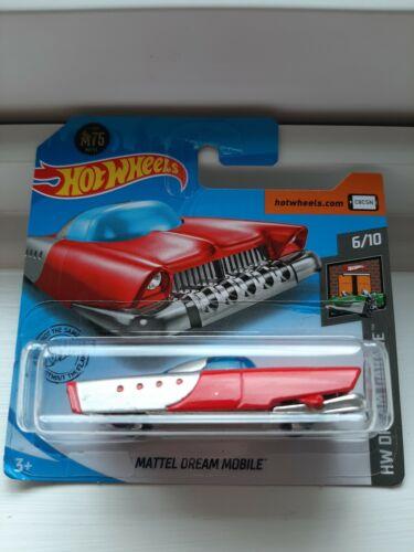 Hot Wheels Mattel Dream Mobile RED #129 2020 new on short card