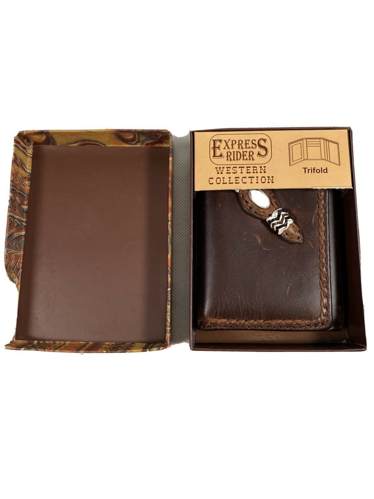 Express Riders Western Collection Trifold Wallet