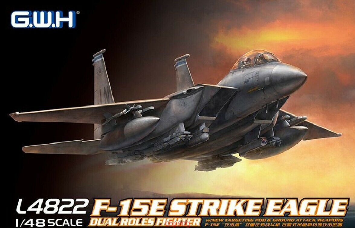 GreatWall 1 48 L4822 F-15E Strike Eagle Dual Roles Fighter Top quality Hot