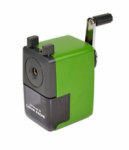 CARAN D'ACHE Pencil Sharpener Machine, GREEN, New In Box, Fits 4-8mm Pencils