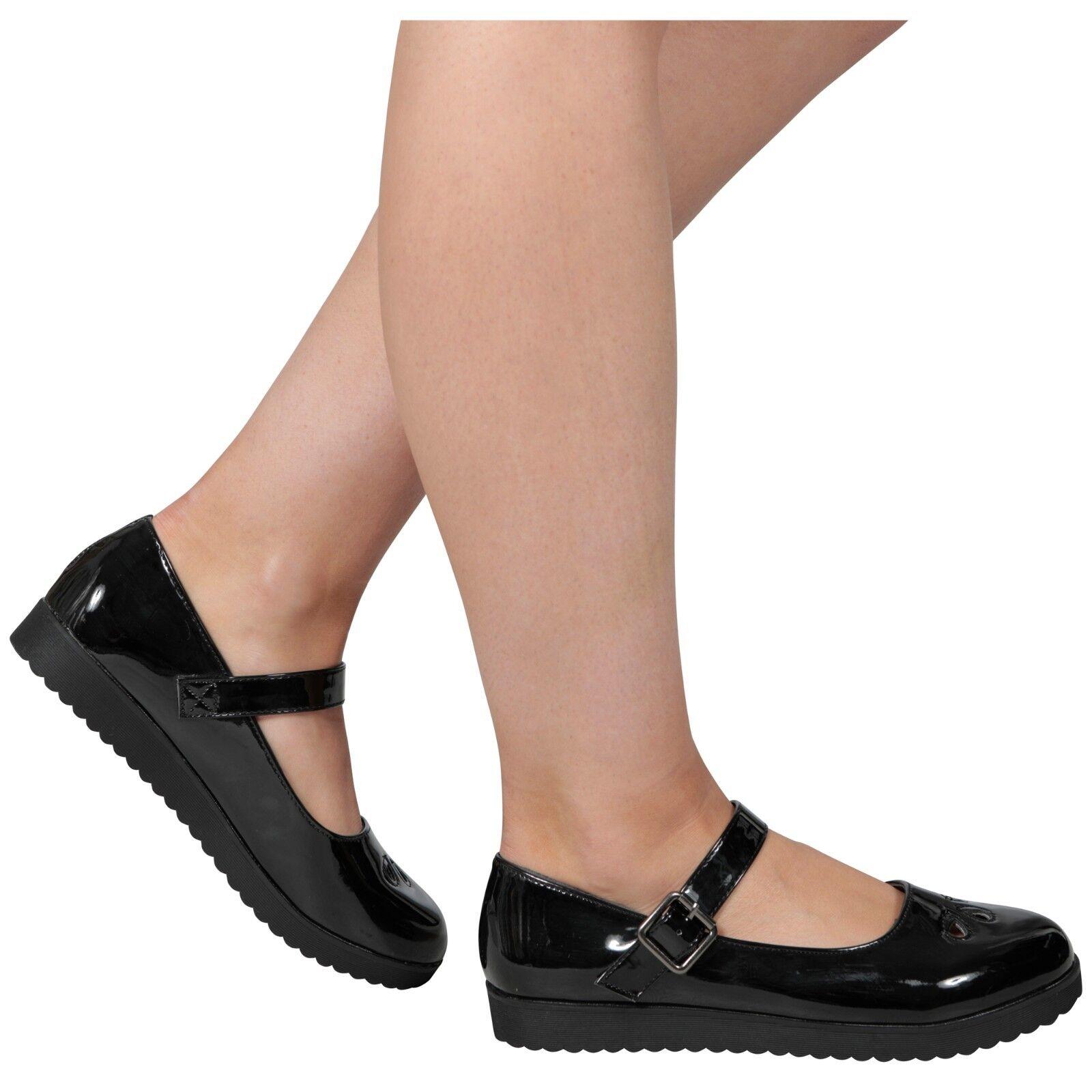 Damas CIERRES Azul Marino  Zapatos  SIN CIERRES Damas