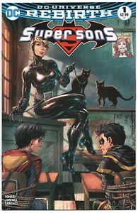 Super-Sons-1-DC-2017-NM-Tyler-Kirkham-Variant-Catwoman-Superboy