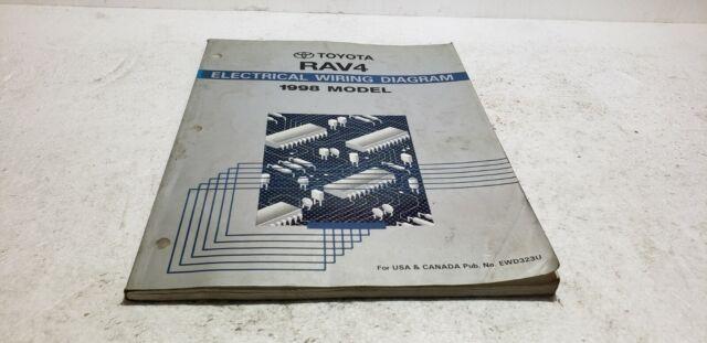 1998 Toyota Rav4 Dealer Service Electronic Wiring Diagram