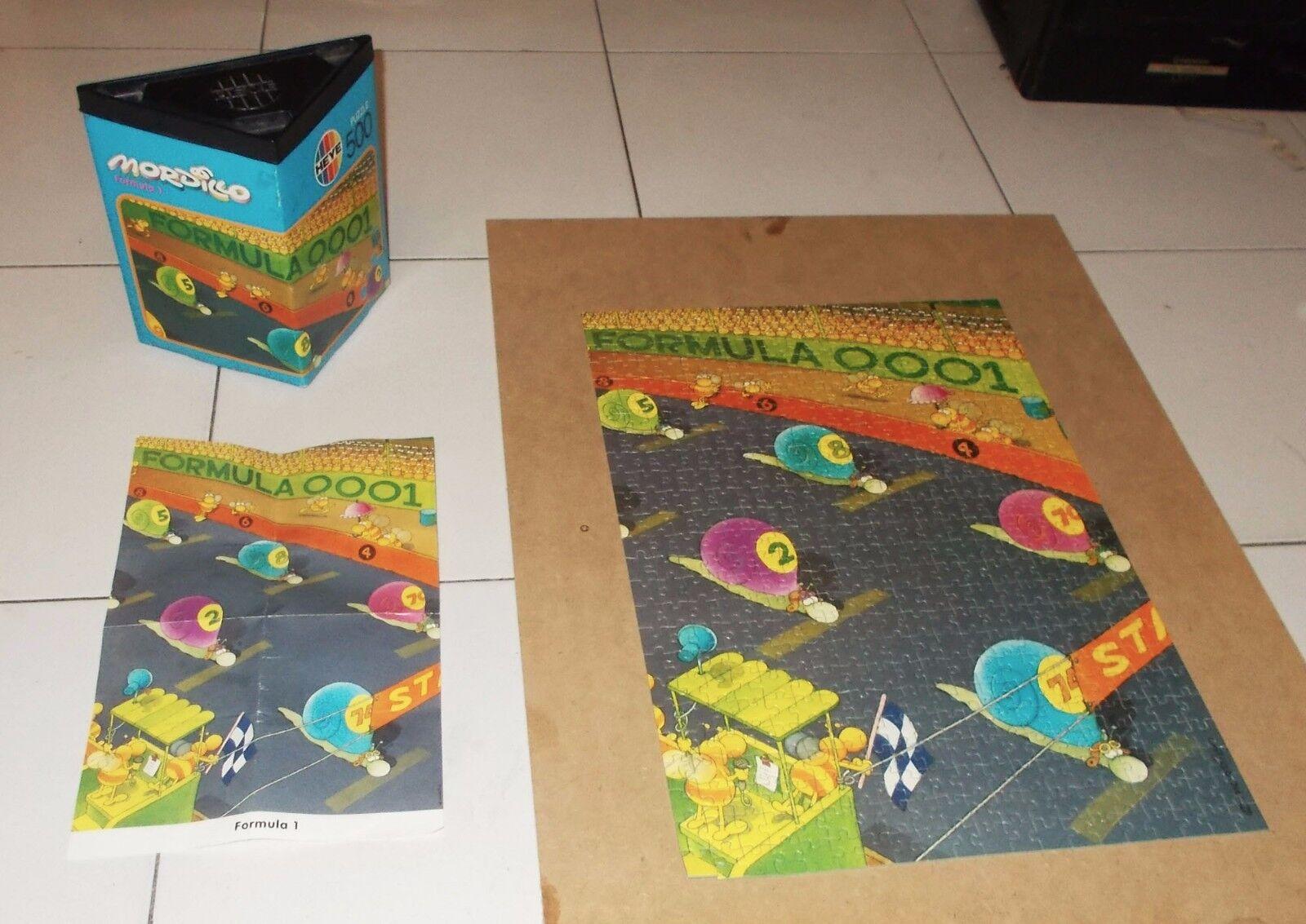 PUZZLE MORDILLO Formula 1 - 500 pcs Heye 1992 art 8364 PERFETTO Guillermo F1 One
