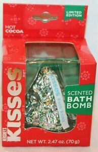 Limited Edition Hershey's Kisses Hot Cocoa Scented Bath Bomb
