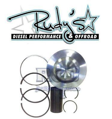 """Mahle 2008-2010 Ford 6.4 Powerstroke Diesel 6.4L Single HD Piston .020/"""" Oversize"""