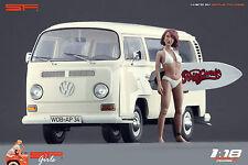 1/18 Surfing girl figure VERY RARE !! for1:18 CMC Autoart Ferrari Exoto
