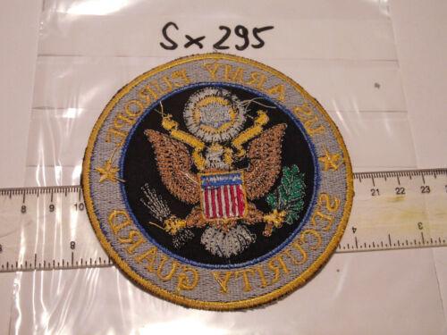 Polizei USA US Army Europe Security Guard sx295