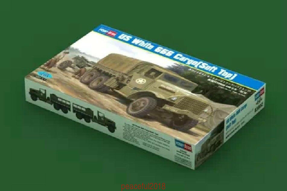Hobbyboss Model Kit 83802  1 35 US White Cargo Soft Top