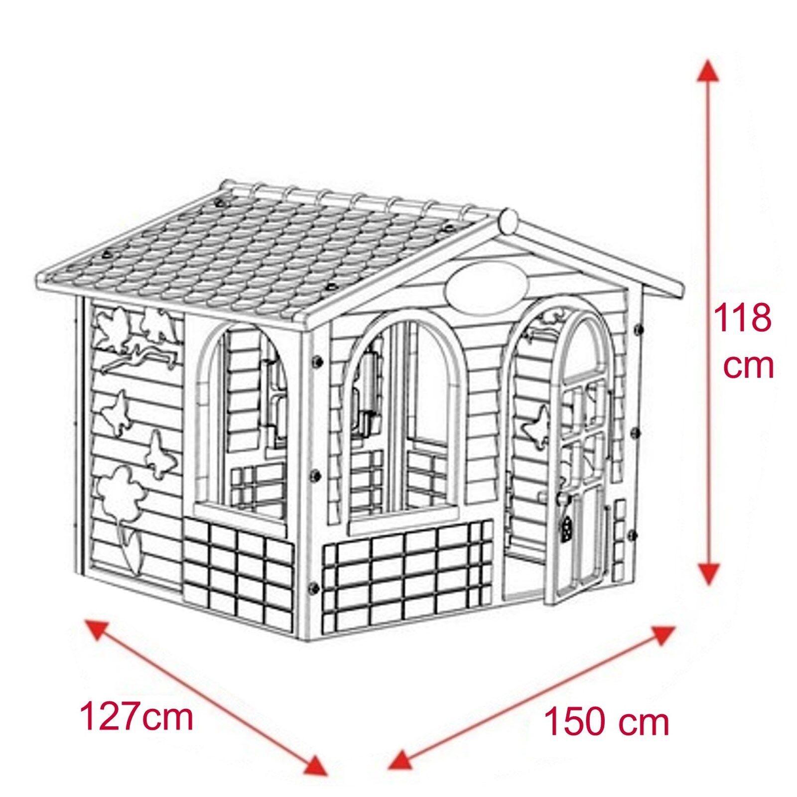 XXL XXL XXL Spielhaus für Kinder Kinderhaus Gartenhaus Kinderspielhaus bunt 4e6f92