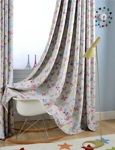 One-panel-Custom-Butterfly-Blockout-Window-Curtain-French-Country-Curtains
