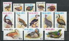 Malawi  229 - 241   Vögel - Birds **  (mnh)