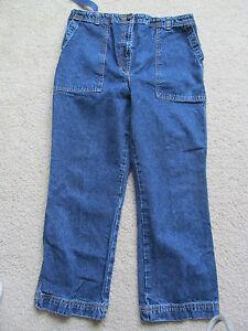 03ace9de486dc Women's Motherhood Maternity Blue Jean Capris/Pants Size Small S ...
