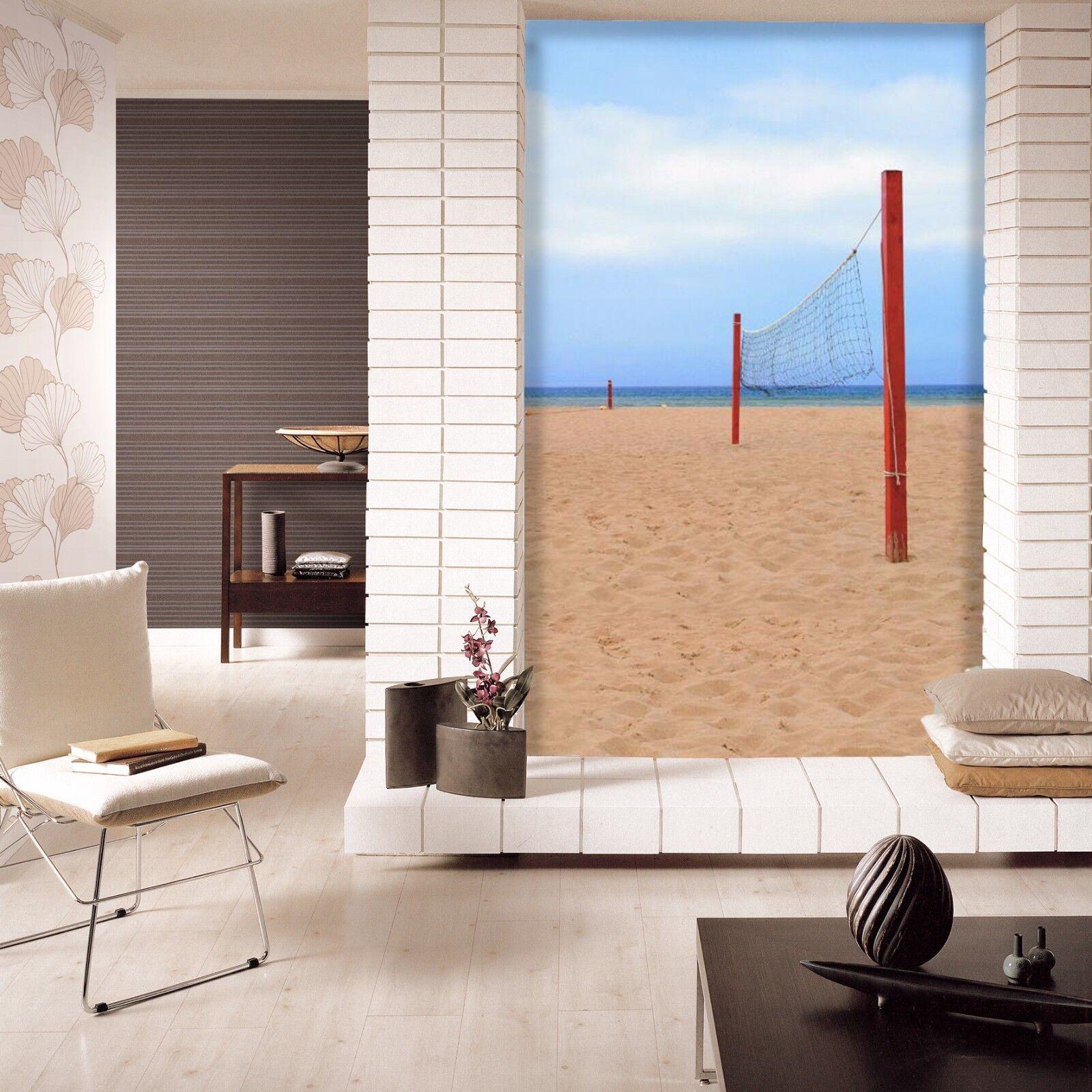 3D Beach Volleyball Net 01 Paper Wall Print Wall Decal Wall Deco Indoor Murals