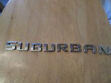"Chevy Suburban '08-'15 chrome door wording ""EMBLEM"""
