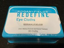Rodan and Fields Redefine 30 Eye Cloths 2in 1 Makeup Remover Peptide Treatment