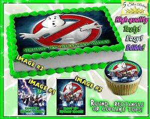 ghostbusters cake topper ghostbusters edible cake toppers picture sugar paper 4489