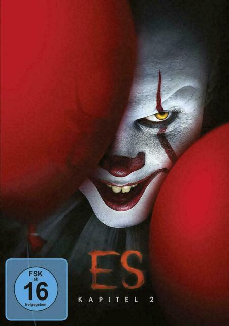 ES - KAPITEL 2 - DVD - Stephen Kings - HORRORFILM DES JAHRES