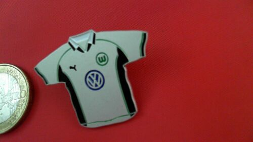 VFL Wolfsburg VW Trikot gross schwarz weiss Pin Badge