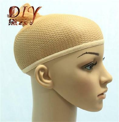 Hot Sell 2 Colors Stretchable Elastic Hair Nets Snood Wig Cap Cool Mesh Cosplay