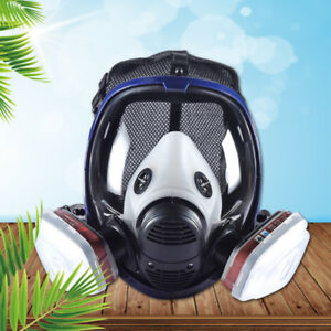 3-in-1-3M-6800-Facepiece-Respirator-Full-Face-Painting-Spraying-Gas-Mask-US