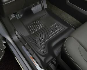 Husky-Liners-WeatherBeater-Floor-Mats-2pc-18491-Honda-Fit-HRV-15-18-Black