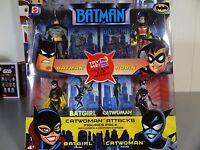 Batman Animated Series 4 Pack Catwoman Attacks