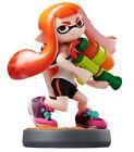 Nintendo Wii U 3ds Splatoon Girl Collectible Figure Amiibo
