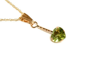 9ct-Gold-Peridot-Heart-Pendant-Necklace-and-Chain-Gift-Boxed-Made-in-UK