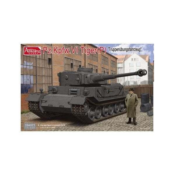 35A023 AMUSING HOBBY 1 35 35 35 GERMAN Pz.Kpfw.VI Tiger(P)  - NEU  | Ausgang  87e6f5